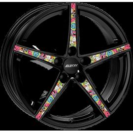 JANTE ALUTEC RAPTR Gloss Black / Stickerbomb  8X18 5X112 ET45 70,1