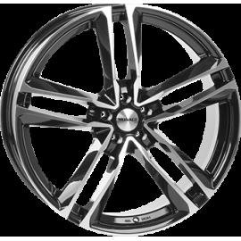 JANTE MONACO MC7 Gloss Black / Polished 9X22 5X112 ET 26 66,6