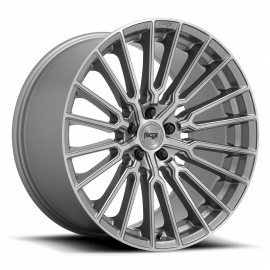 """JANTE NICHE PREMIO   M251 Anthracite with Brushed Tint Clear 19/20/22"""""""
