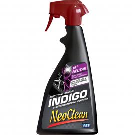 Nettoyant Jantes INDIGO & Décontaminant Ferreux  NEO CLEAN  500 ml