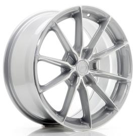 JANTE JR Wheels JR37 18x8 ET20-45 5H BLANK Silver Machined Face