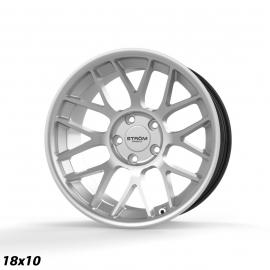 JANTE STROM WHEELS  STR2 RC18x10ET205x12072,6Quartz Silver