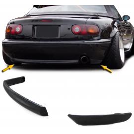 Diffuseur de lèvre de becquet arrière de Style R inférieur pour pare-chocs pour Mazda MX5 NA 89-98