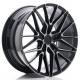 JANTE JR Wheels JR38 19x8,5 ET45 5x112 Black Brushed w/Tinted Face