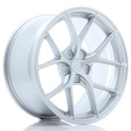 JANTE JR Wheels SL01 18x9,5 ET25-38 5H BLANK Matt Silver