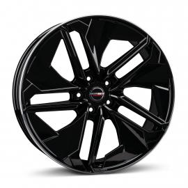 JANTE BORBET TX black rim polished glossy 9X21 5X112 ET 45 66,6